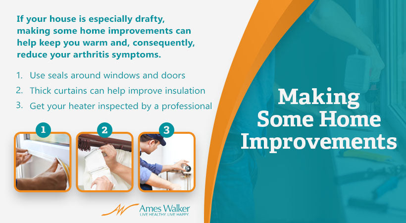 making home improvements graphic