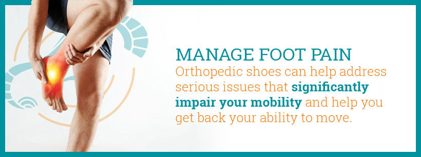 manage foot pain