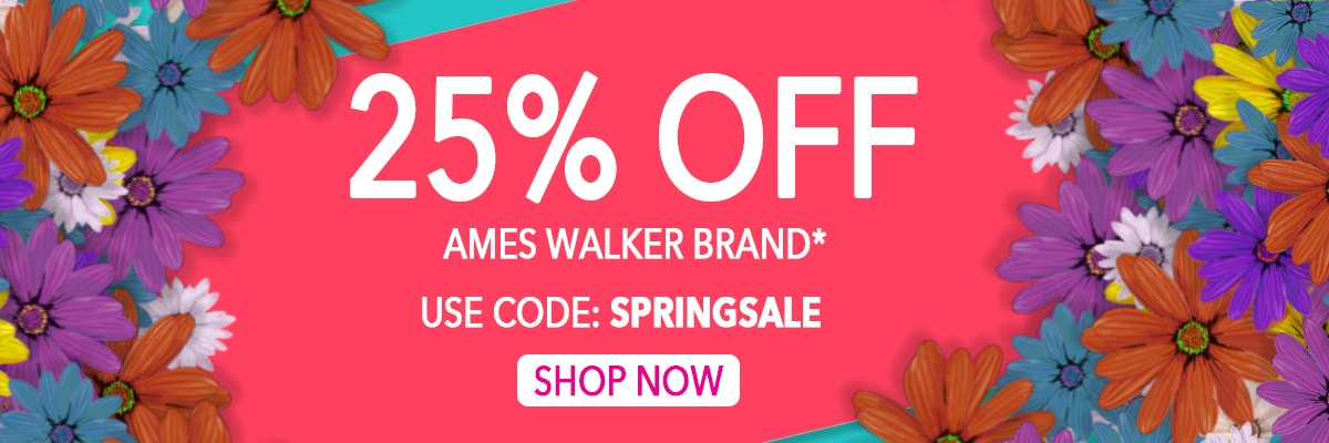 Save 25% On Ames Walker Brand!