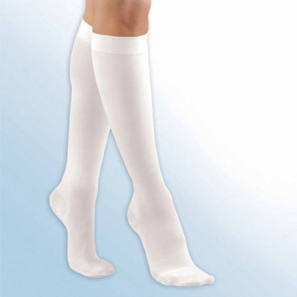 FLA Activa Anti-Embolism Closed Toe Knee High Stockings - 18 mmHg