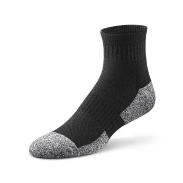 Dr. Comfort Unisex Diabetic Ankle Socks - Black