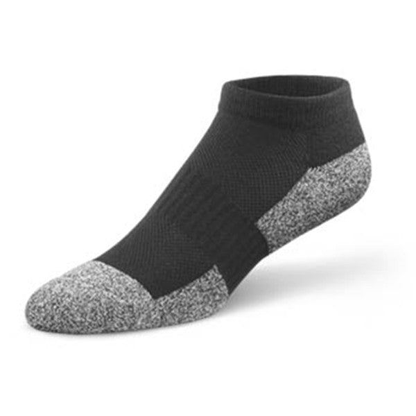 Dr. Comfort Unisex Diabetic No Show Socks - Black