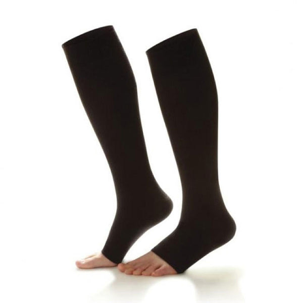 Dr. Comfort Open Toe Knee High Socks - 20-30 mmHg