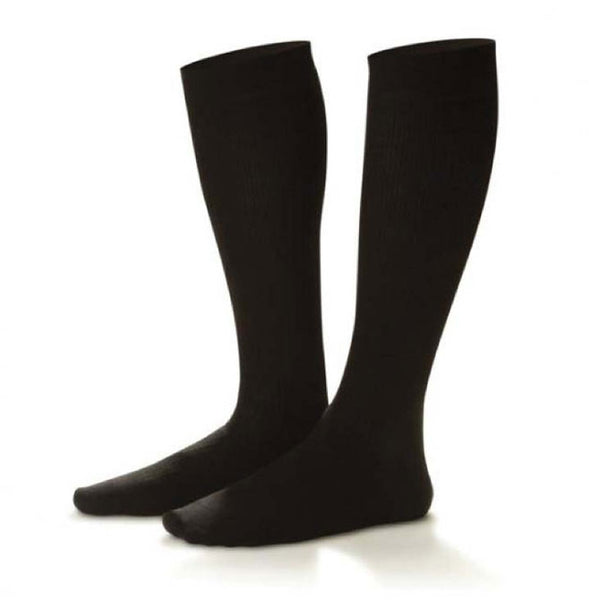 Dr. Comfort Men's Cotton Knee High Dress Socks - 10-15 mmHg