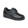 Drew Men's Navigator II Shoes - Black Pebbled Leather