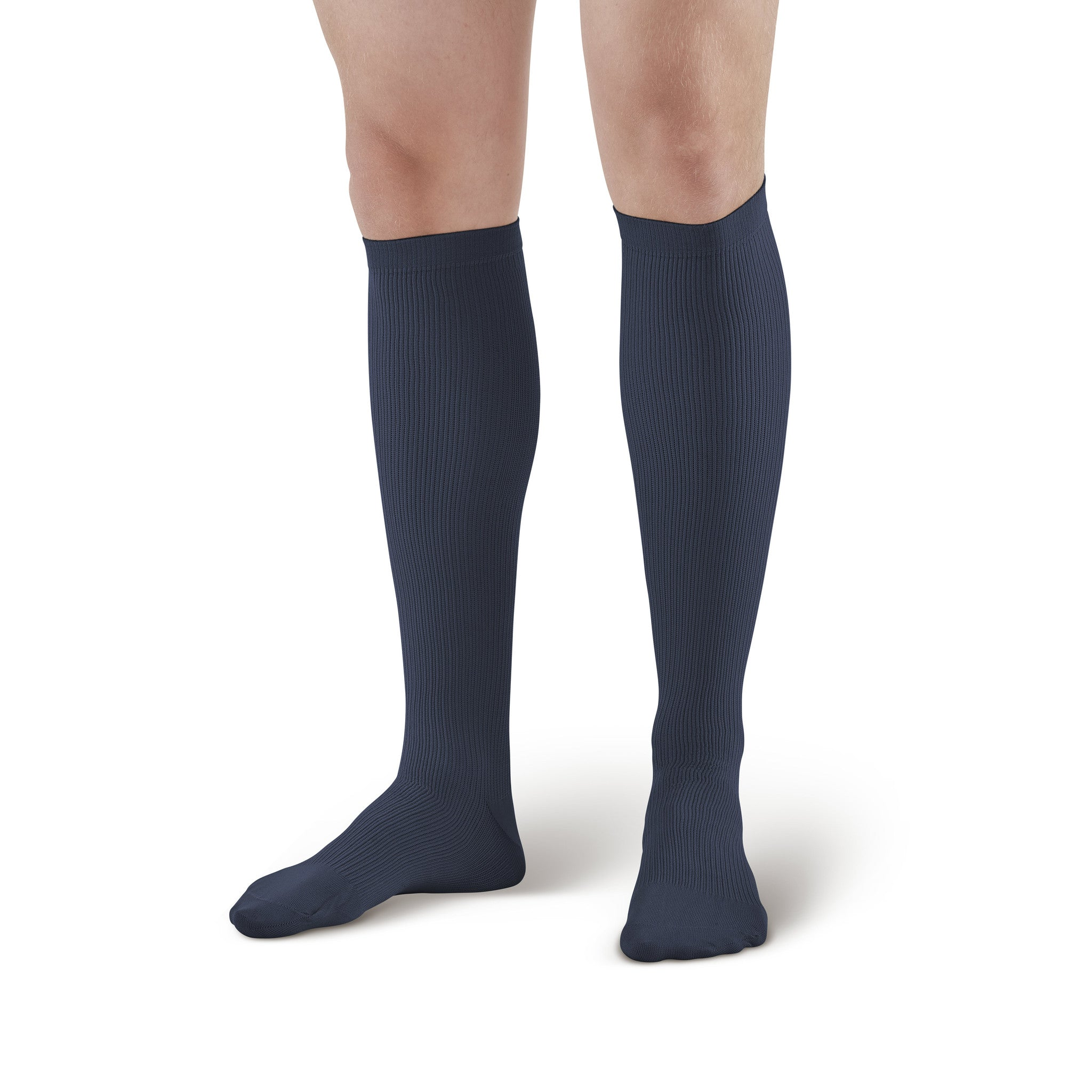 be4140f5f ... AW Style 100 Men s Knee High Dress Socks - 20-30 mmHg Navy ...