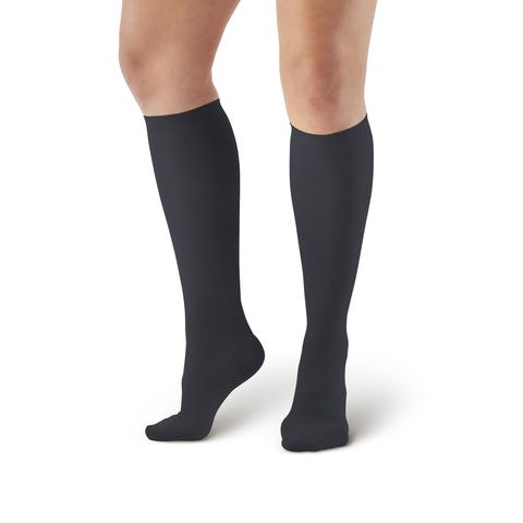 AW Style 169 Women's Cotton Travel Knee High Socks - 15-20 mmHg (SALE)