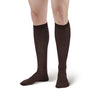 Ames Walker Men's Compression Knee High Socks - 20-30 mmHg Brown