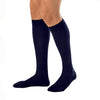 Jobst Compression Knee High Socks For Men Black 20-30 mmHg