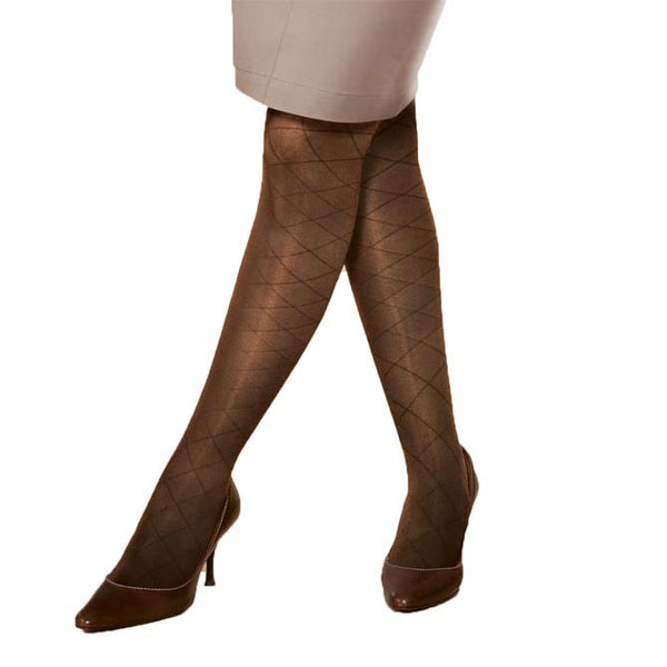Jobst Ultrasheer Diamond Pattern Closed Toe Pantyhose - 20-30 mmHg