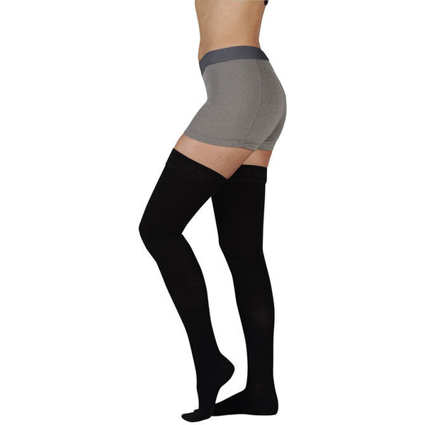 Juzo 2002 Soft Closed Toe Thigh Highs - 30-40 mmHg