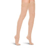 Therafirm Women's Closed Toe Thigh Highs w/ Lace Band - 15-20 mmHg -Natural