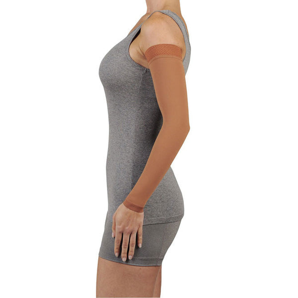 Juzo 2002 Lymphedema Armsleeve Dreamsleeve w/Silicone Band - 30-40 mmHg
