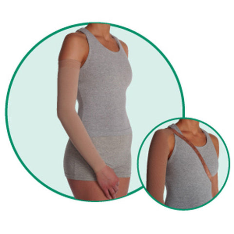 Juzo 3512 Dynamic Lymphedema Armsleeve w/Shoulder Strap - 30-40 mmHg