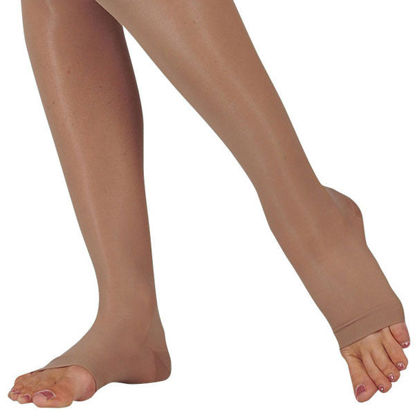 Juzo 2100 Naturally Sheer Open Toe Knee Highs - 15-20 mmHg
