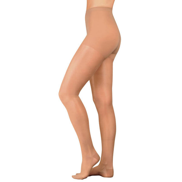 Juzo 2100 Naturally Sheer Open Toe Pantyhose - 15-20 mmHg