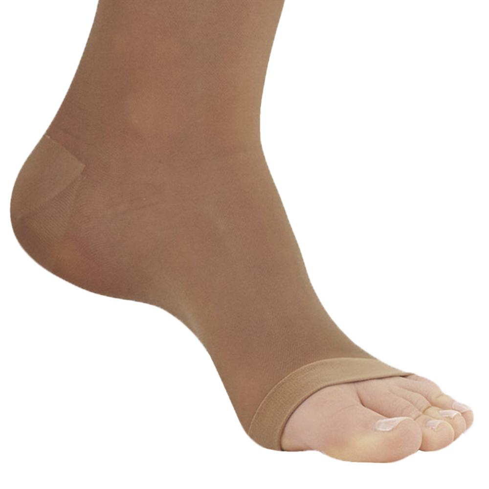 81c2d920f0782 ... AW Style 33OT Sheer Support Open Toe Pantyhose - 20-30 mmHg - Foot ...