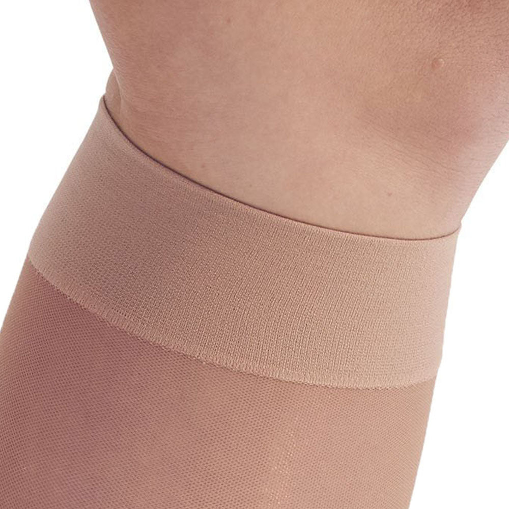 d90ae07756 ... AW Style 16 Sheer Support Closed Toe Knee Highs - 15-20 mmHg - Band ...