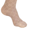AW Style 17 Sheer Support Diamond Pattern Closed Toe Knee Highs - 15-20 mmHg - Foot