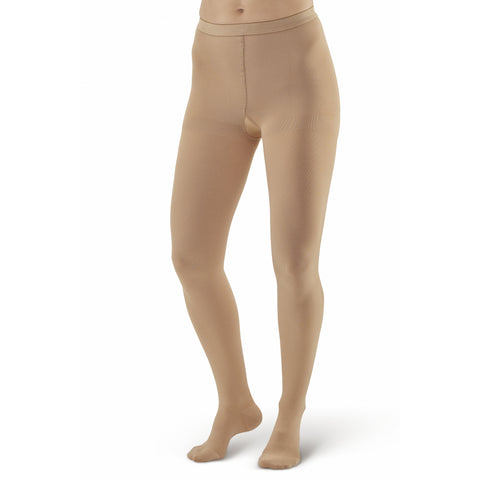 AW Style 303 Medical Support Closed Toe Pantyhose - 30-40 mmHg - Beige