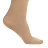 AW Style 209 Microfiber Opaque Closed Toe Knee Highs - 15-20 mmHg - Foot