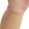 AW Style 209 Microfiber Opaque Closed Toe Knee Highs - 15-20 mmHg - Band