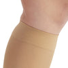 AW Style 209OT Microfiber Opaque Open Toe Knee Highs 15-20 mmHg - Top Band