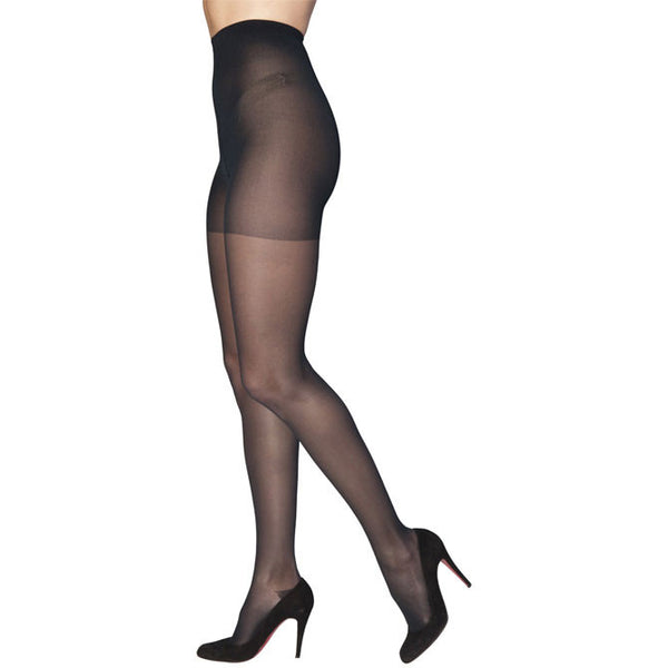 Sigvaris 782 EverSheer Closed Toe Pantyhose - 20-30 mmHg - Black