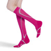 Sigvaris 412 Traverse Knee High Socks - 20-30 mmHg - Pink