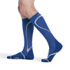 Sigvaris 412 Traverse Knee High Socks - 20-30 mmHg - Blue
