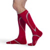 Sigvaris 412 Traverse Knee High Socks - 20-30 mmHg - Red