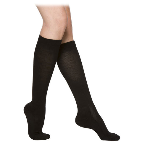 Sigvaris 362 Cushioned Cotton Women's Knee High Socks - 20-30 mmHg