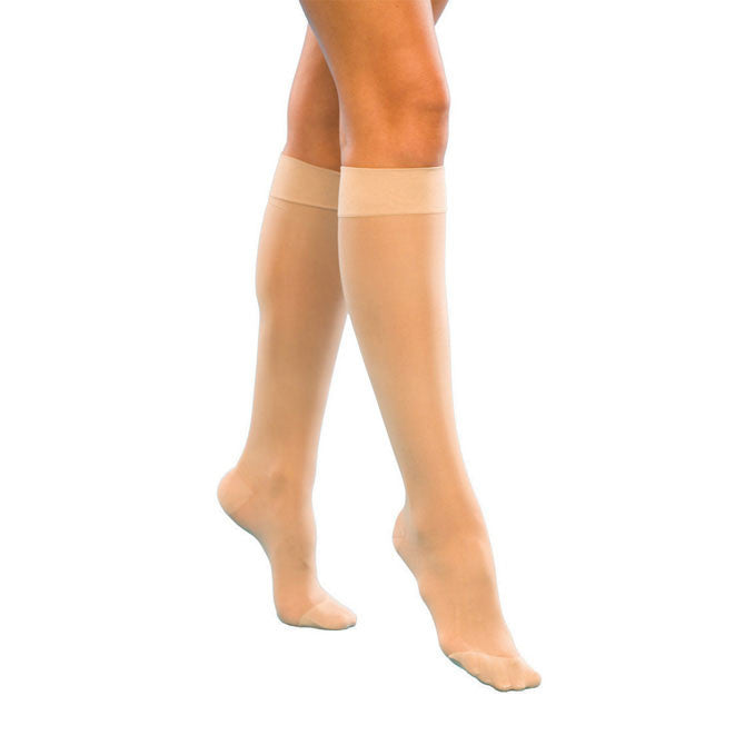 02b9556595 Sigvaris Compression Stockings | 120 Women's Closed Toe Knee Highs ...