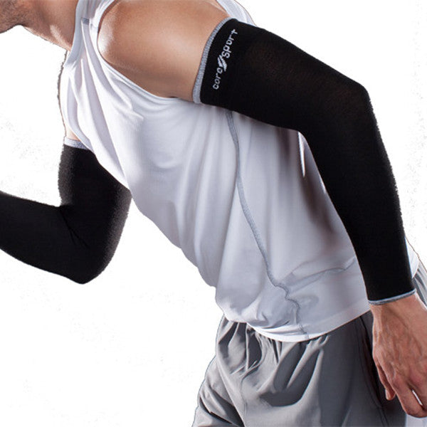 Therafirm Core-Sport Armsleeve - 15-20 mmHg - Black