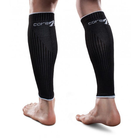 Therafirm Core-Sport Leg Sleeves - 15-20 mmHg - Black