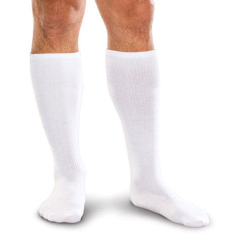 Therafirm Core-Spun Mild Support Men's and Women's Knee High Socks - 15-20 mmHg