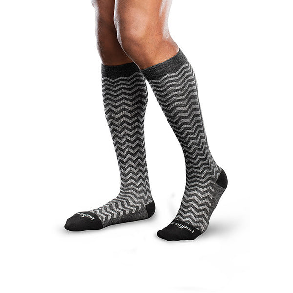 Therafirm Core-Spun Moderate Support Socks- Trendsetter 20-30 mmHg