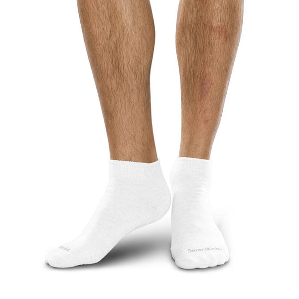 SmartKnit Seamless Diabetic Coolmax Mini-Crew Socks