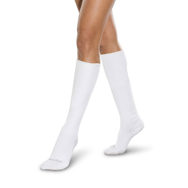 SmartKnit Seamless Diabetic Coolmax Knee High Socks