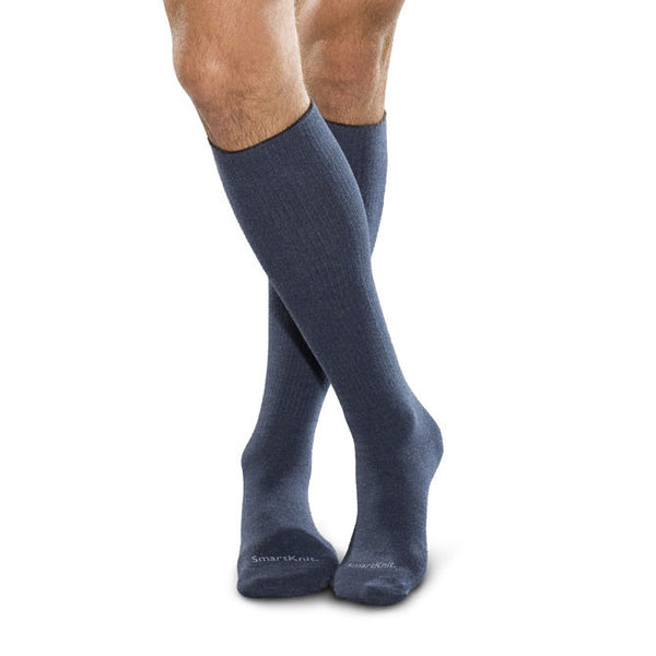 SmartKnit Seamless Diabetic Knee High Socks w/X-Static Silver Fibers