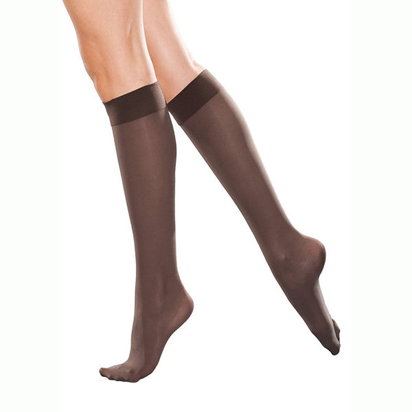 Therafirm Light Support Women's Closed Toe Knee Highs - 10-15 mmHg