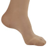 AW Style 263 Microfiber Opaque Closed Toe Thigh Highs w/Top Band - 20-30 mmHg - Foot