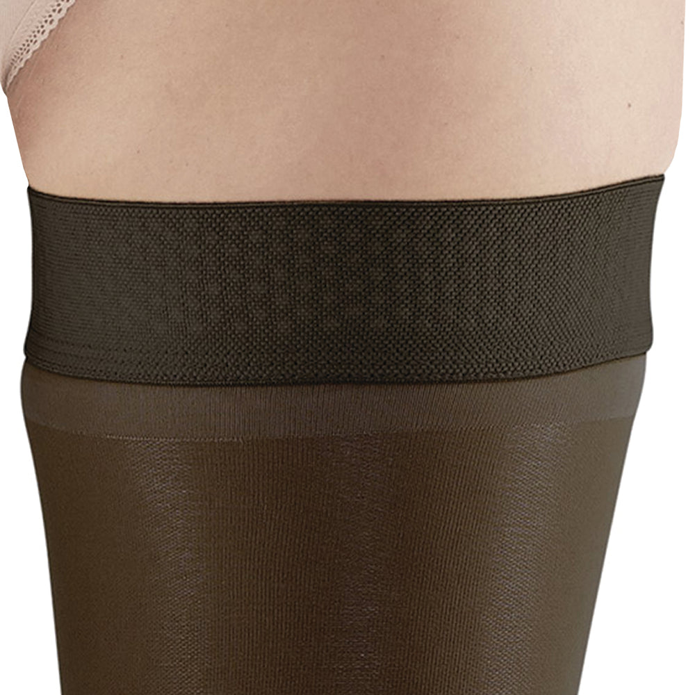 dc1237e82 AW Style 366 Signature Sheers Open Toe Thigh Highs w Sil. Dot Band ...