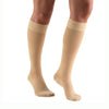 TruForm 8864 Classic Medical Closed Toe Knee Highs w/Sili Dot Band - 20-30 mmHg