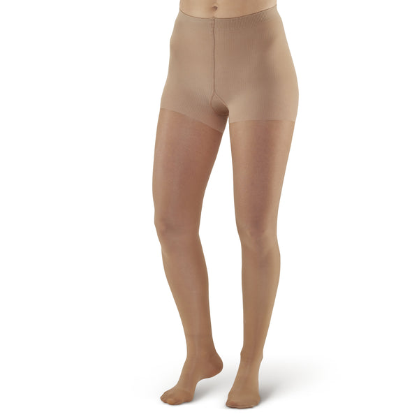 AW Style 283 Signature Sheers Closed Toe Pantyhose - 20-30 mmHg - Beige