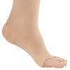 AW Style 291OT Luxury Opaque Open Toe Knee Highs - 20-30 mmHg - Foot
