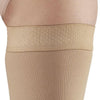 AW Style 392OT Luxury Opaque Open Toe Thigh Highs w/Dot Sil Band - 30-40 mmHg