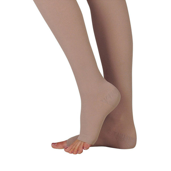 Juzo 3511 Dynamic (Varin) Soft Open Toe Thigh Highs w/Waist Att. RGT 20-30 mmHg