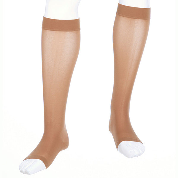 Medi Assure Open Toe Knee Highs - 15-20 mmHg