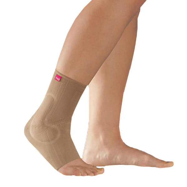 Medi Levamed Ankle Support w/Silicone Inserts - Beige